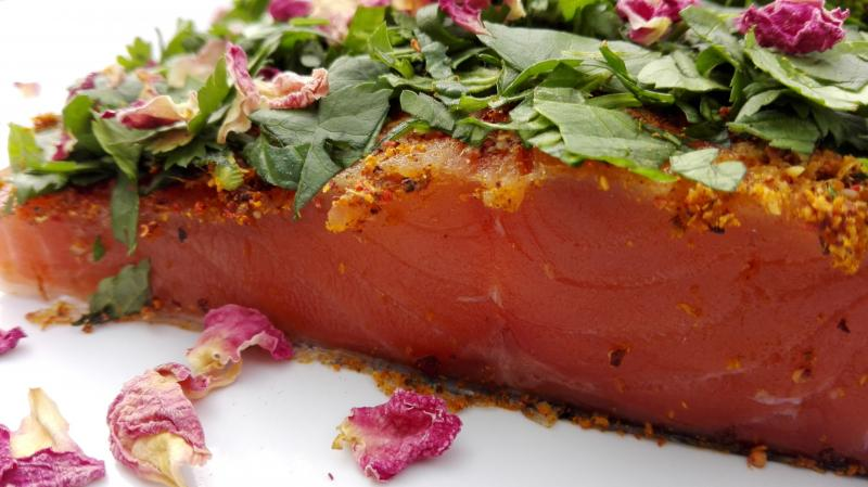 "Salmon marinated ""Indian Style"" 300g"