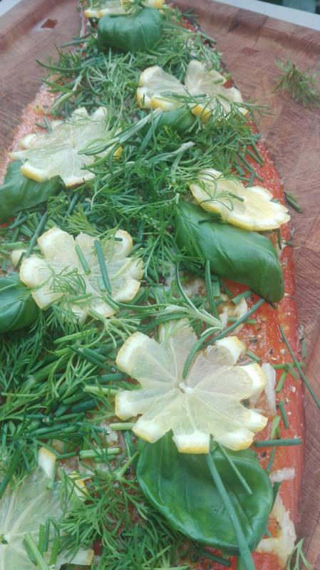 Graved to Grill Garlic, Brown Sugar and Fresh Herbs 500g