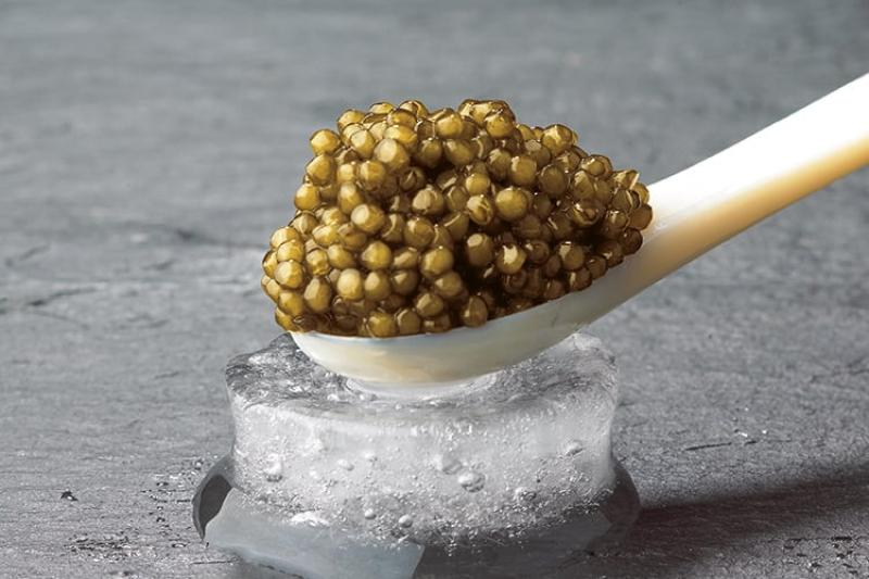 Imperial Gold Caviar | A marine delicacy! Mild and balanced.