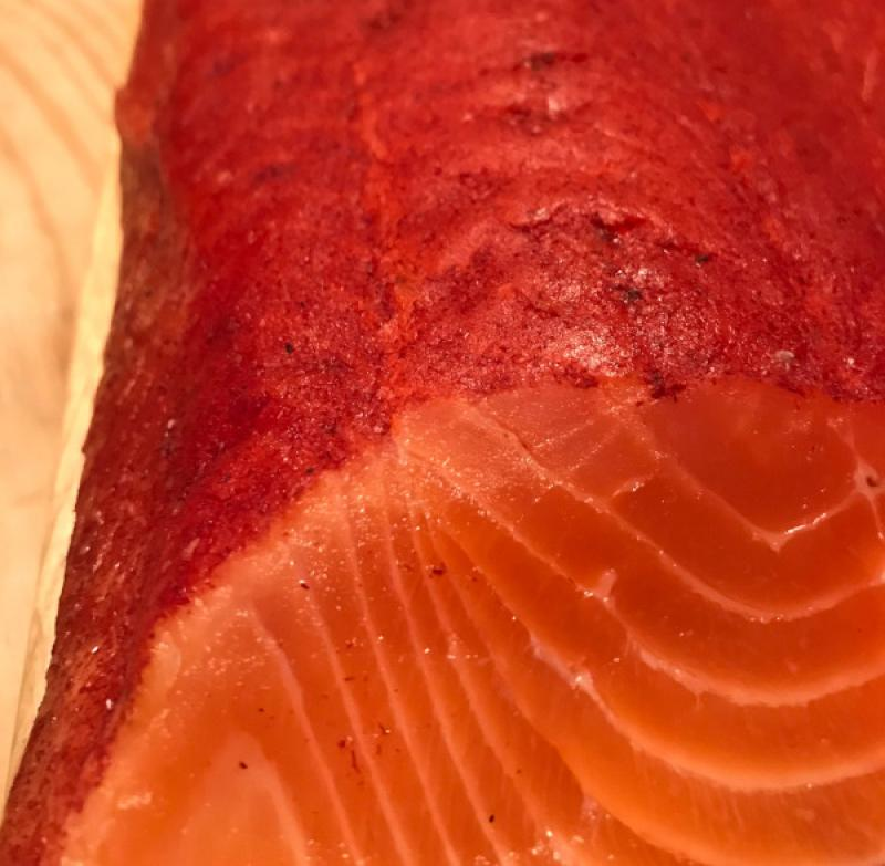 Scottish smoked salmon with whiskey and sandalwood approx. 1.1 kg