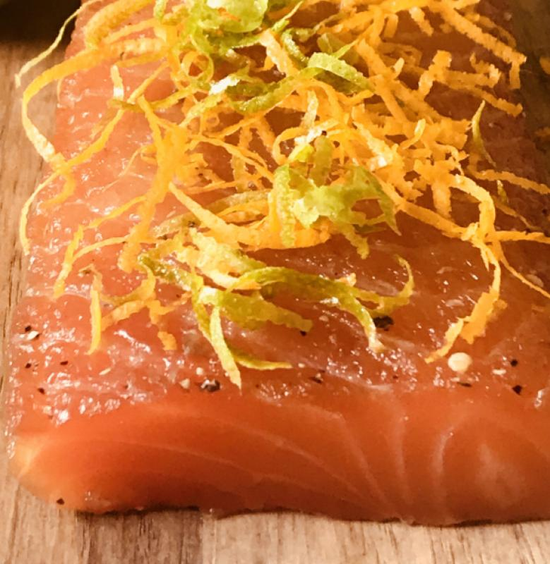 Graved Loin Orange - Lime
