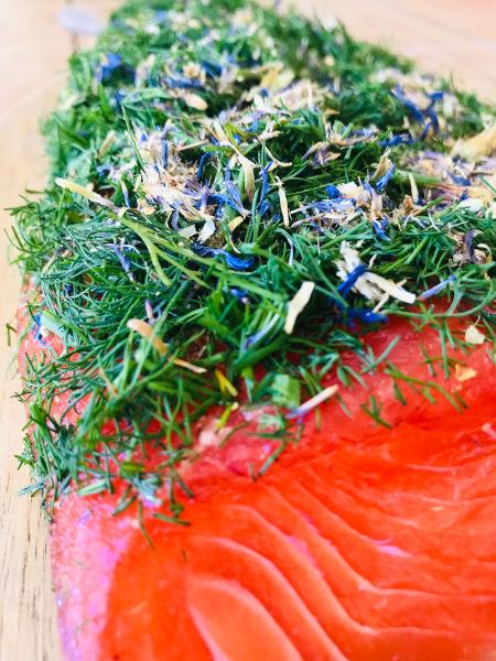 Pickled (graved) fjord trout NORDIC Arctic approx. 1kg
