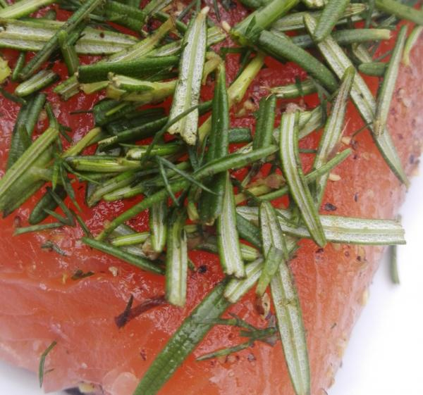 Autumn package 7 - 6 pieces Graved salmon a 300g